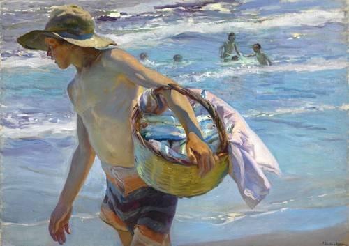 tableaux-de-personnages - Tableau -Le pêcheur- - Sorolla, Joaquin