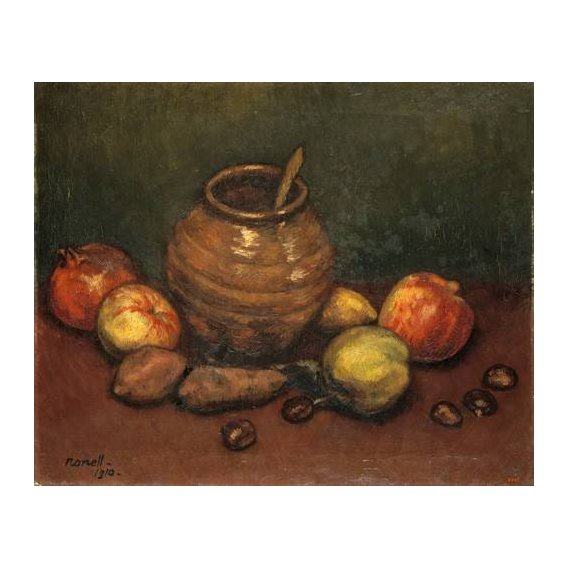 naturezas mortas - Quadro -Still Life, 1910-