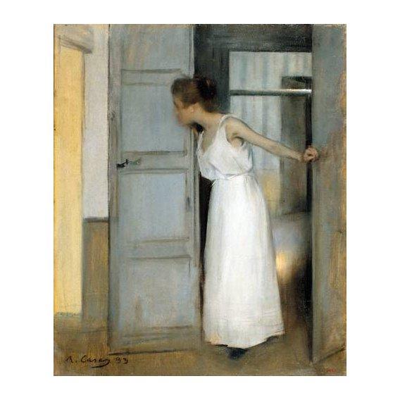 pinturas do retrato - Quadro -Over My Dead Body, 1893-