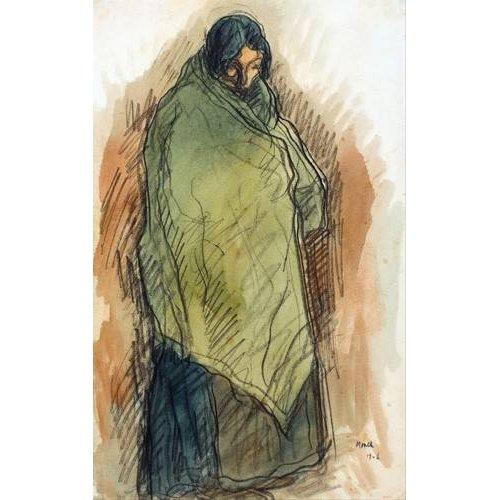 Tableau -Gypsy Standing, 1906-
