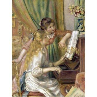 Tableau -Jeunes filles au piano, 1892-