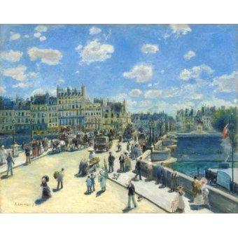 Tableau -Pont Neuf, Paris, 1872-