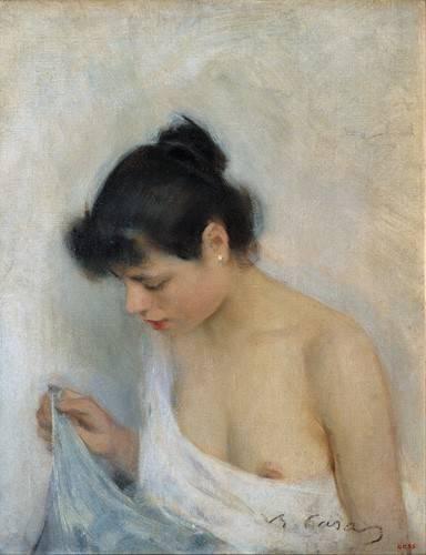 tableaux-de-nus - Tableau -Study, 1893- - Casas i Carbó, Ramón