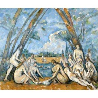 Tableaux de Nus - Tableau - Les Grandes Baigneuses, 1906 - - Cezanne, Paul