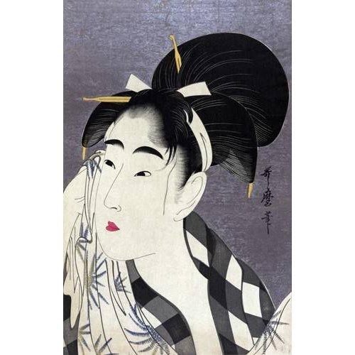 Tableau -Ase o fuku onna- geisha