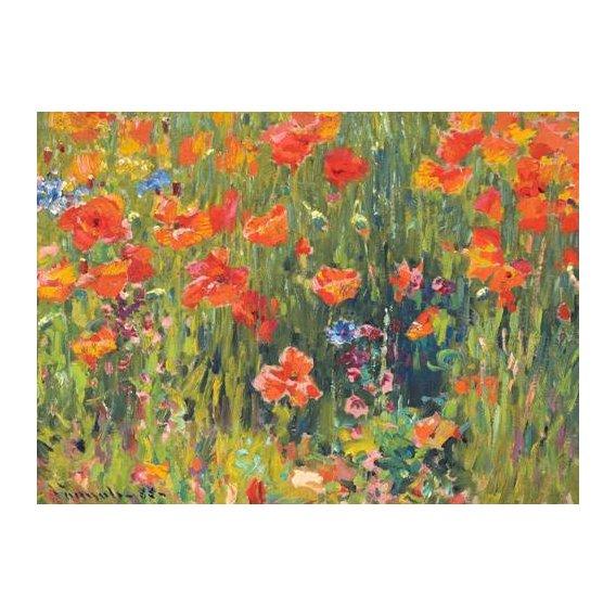 imagens de flores - Quadro -Amapolas, 1888-