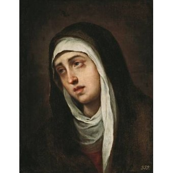 Tableaux religieuses - Tableau -La Dolorosa, 1660-70- - Murillo, Bartolome Esteban