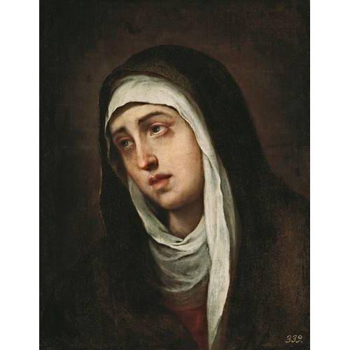 imagens religiosas - Quadro -La Dolorosa, 1660-70-