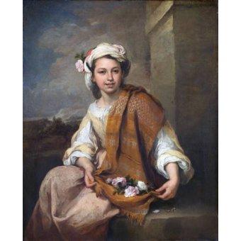 Tableau -La Niña de las Flores, 1670-