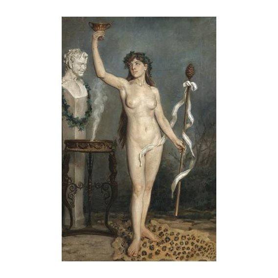 fotos nuas - Quadro -Modelo desnudo femenino-