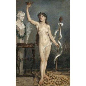 Tableaux de Nus - Tableau -Modèle nu féminin- - Sorolla, Joaquin