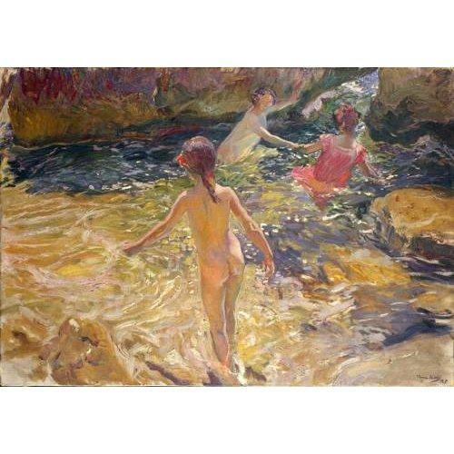 pinturas de paisagens marinhas - Quadro -El baño, Jávea-