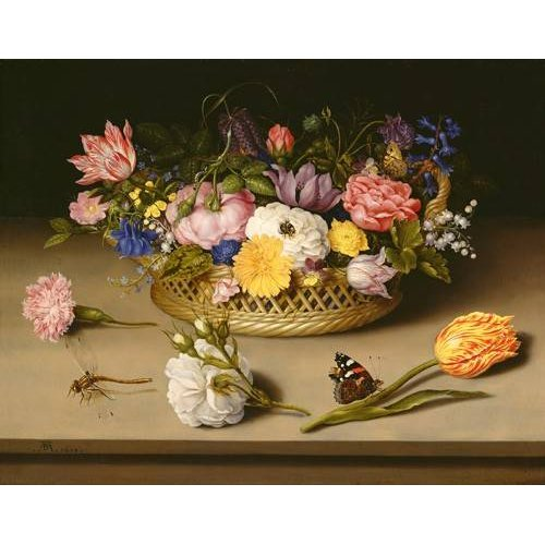 Tableau -Flower Still Life-