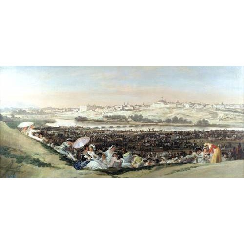 Tableau -La Pradera de San Isidro, 1814-