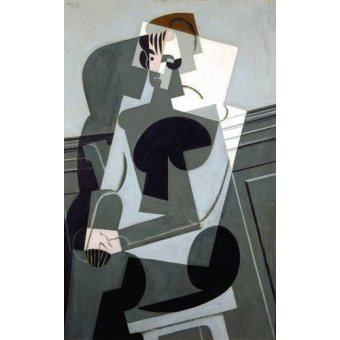 Tableaux abstraits - Tableau -Portrait de Madame Josette Gris, 1916- - Gris, Juan