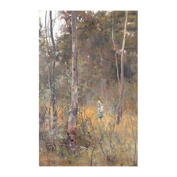 pinturas de paisagens - Quadro -Perdida (Lost)-