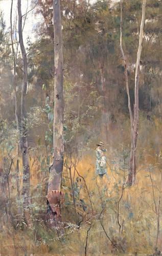 tableaux-de-paysages - Tableau -Perdida (Lost)- - McCubbin, Frederick