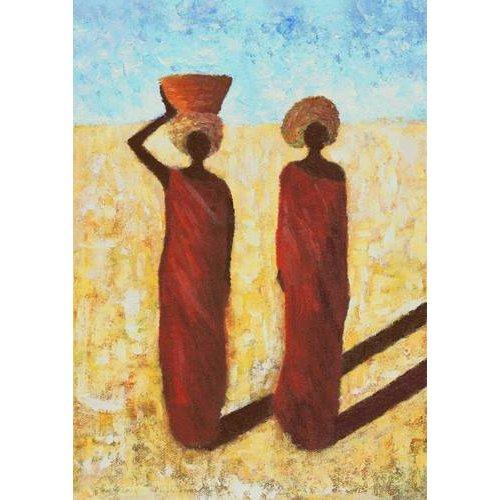 Tableau -African Girls, 2001-