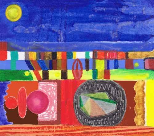 tableaux-orientales - Tableau -Nocturnal, 2002- - Wilson, Tom
