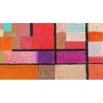 Tableaux abstraits - Tableau -Abstrait M_K_12- - Molsan, E.