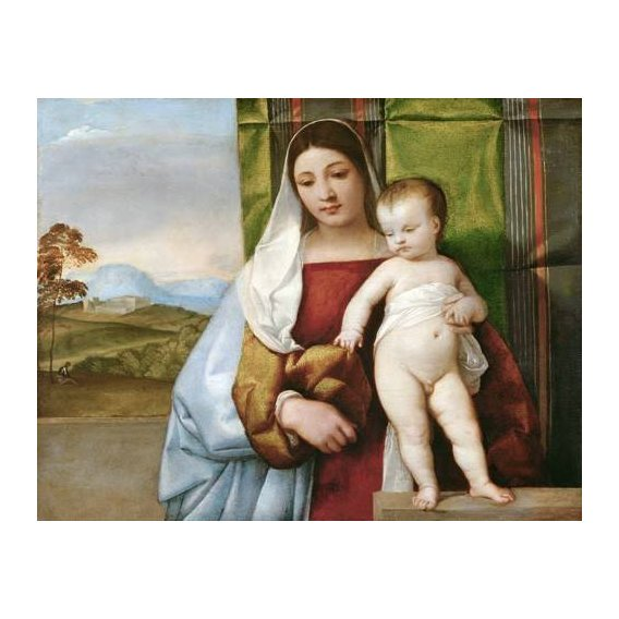 imagens religiosas - Quadro -Arbol Amarillo, La Granja, 1906-