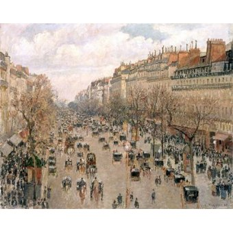 Tableau -Boulevard Montmartre, 1897-
