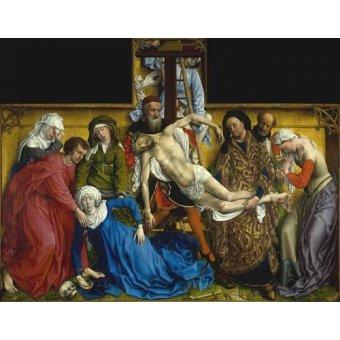 Tableaux religieuses - Tableau -El Descendimiento- - Van der Weiden, Rogier