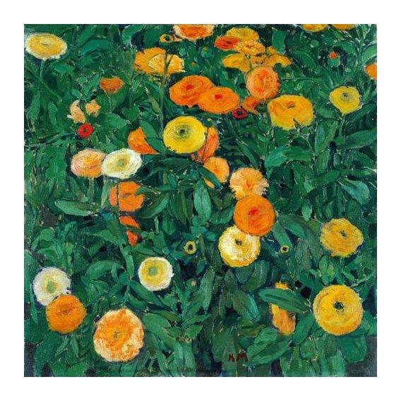 imagens de flores - Quadro -Caléndulas (Marigolds)-