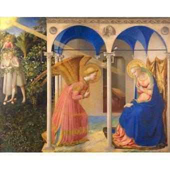 Tableaux religieuses - Tableau -L'annonciation- - Fra Angelico, G. Da Fisole