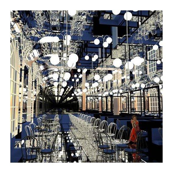 pinturas modernas - Quadro -Ella baila sola-
