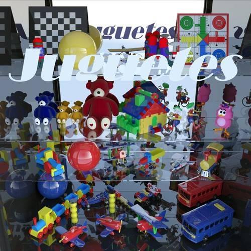 tableaux-modernes - Tableau -La tienda de juguetes- - Aguirre Vila-Coro, Juan