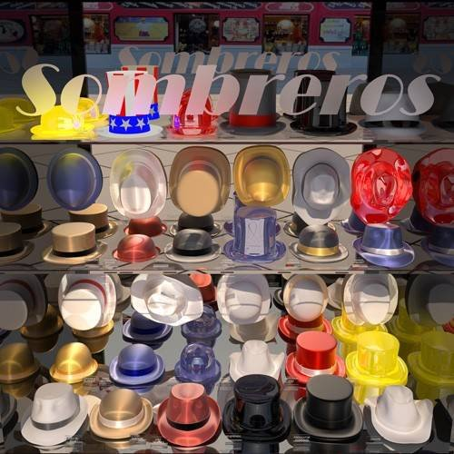Tableau -La tienda de sombreros-