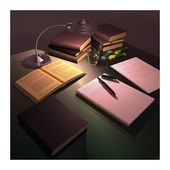 pinturas modernas - Quadro -Escritorio de Julio-