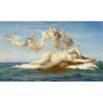 Tableaux de Nus - Tableau -El Nacimiento de Venus- - Cabanel, Alexander