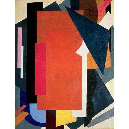 pinturas abstratas - Quadro -Painterly architectonics-