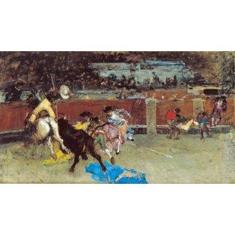 Tableaux de faune - Tableau -Corrida de toros- - Fortuny y Marsal, Mariano