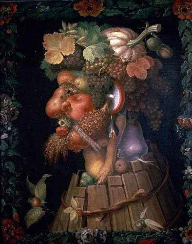 cuadros-decorativos - Tableau -El otoño- - Arcimboldo, Giuseppe