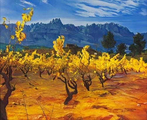 tableaux-de-paysages - Tableau -Paisaje- - Zamarbide, Federico Garcia