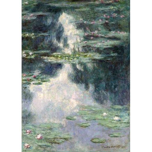 Tableau -L'étang aux nymphéas, 1907-