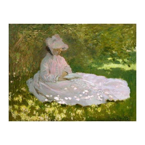 pinturas de paisagens - Quadro -Primavera, 1872-