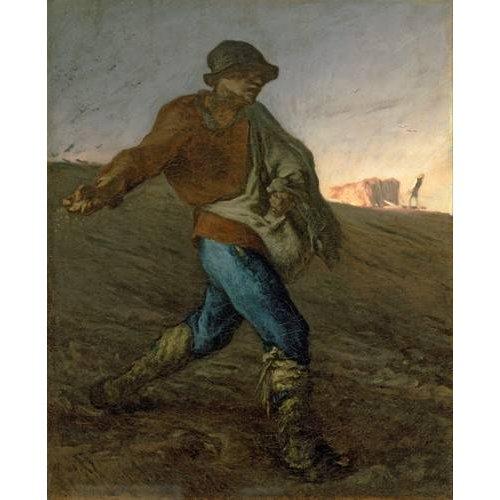 pinturas do retrato - Quadro -El Sembrador-