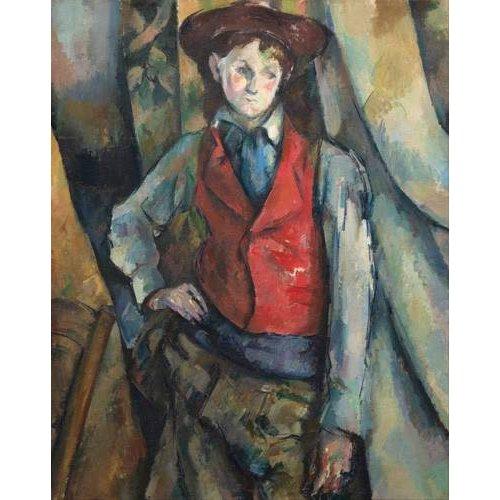 Tableau - Le Garçon au gilet rouge, 1888-1890 -