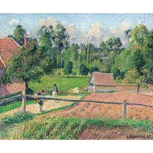 Tableau -Vue de la fenêtre de l'artiste (Eragny)-