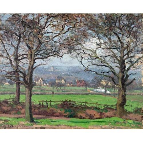 pinturas de paisagens - Quadro -Near Sydenham Hill-
