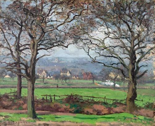 tableaux-de-paysages - Tableau -Near Sydenham Hill- - Pissarro, Camille