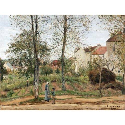 Tableau -Maisons à Bougival (automne)-