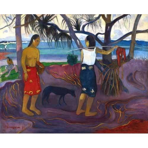 Tableau -I Raro Te Oviri (Under the Pandanus)-