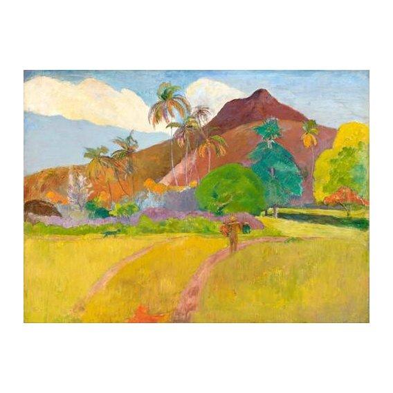pinturas de paisagens - Quadro -Tahitian_Landscape-