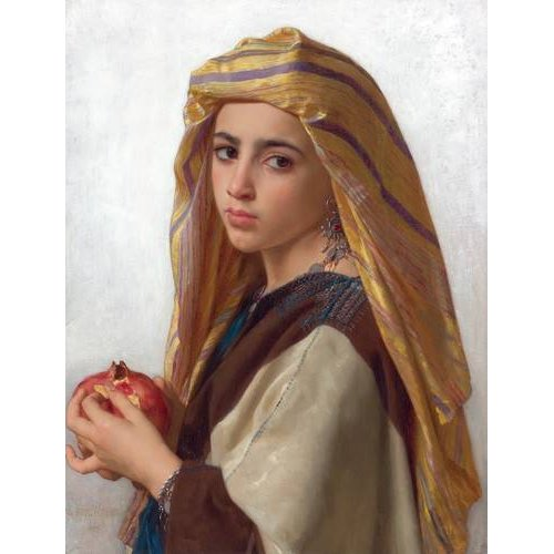 Tableau -Girl with a pomegranate-