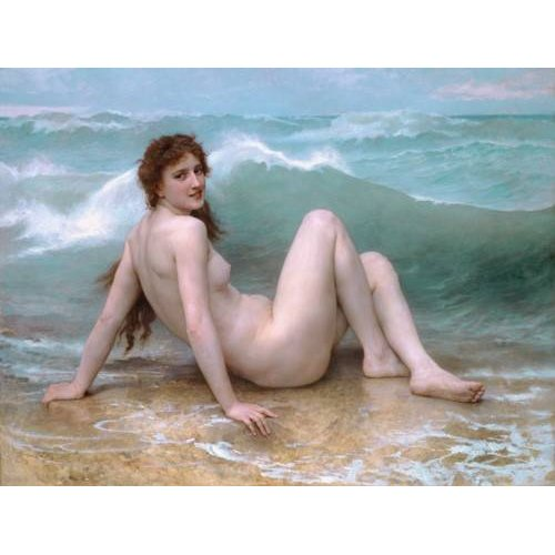fotos nuas - Quadro -The Wave, 1896-